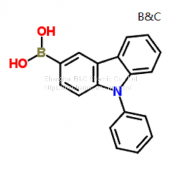 High purity of Boronic acid, B-(9-phenyl-9H-carbazol-3-yl)-  (CAS854952-58-2 )with best price and best service