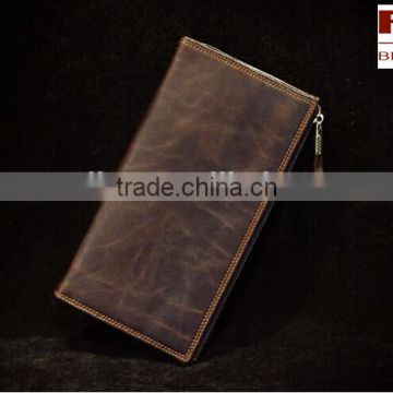 Rfid Blocking Security Distressed Vintage Leather wallet,men wallet                                                                         Quality Choice