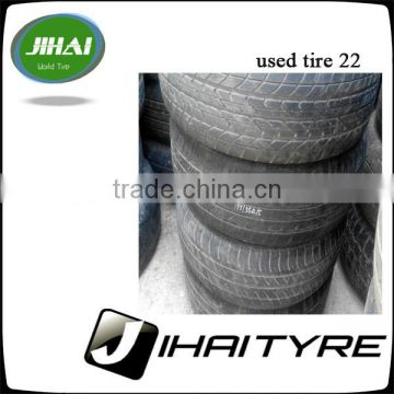 second hand car tire,used tyre japan brand ,with good quality