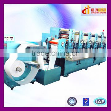 CH-300 off line roll to roll PE label sticker printing machine supplier