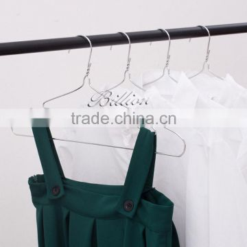 FOB Price stock wholesale laundry galvanized coated metal wire clothes hangers
