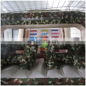 army adult inflatable obstacle course hire/giant inflatable obstacle course