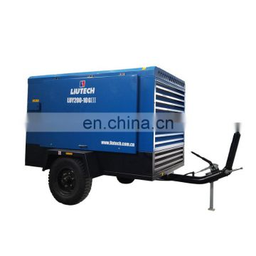 good price with motor different types air compressor for borehole drilling