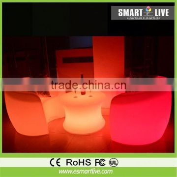 led cube rgb 10x10x10 waterproof for party rgb color changing led furniture