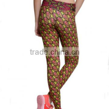 3011b13e4e55e 2017 Custom Sublimation Fitness Wear Leggings Womens High Waist Yoga Pants  of Yoga from China Suppliers - 144746492