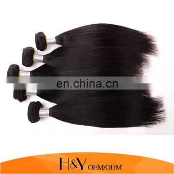 Silky Straight Yaki Hair Weave Hot New Products Brazilian Hair