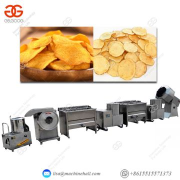 Potato Chips Production Line Frozen Fries Processing Plant
