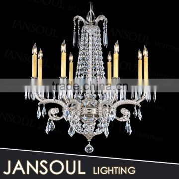 2015 traditional lantern factories in dubai candle k9 crystal chain chandelier pendant lights for kitchen decoration