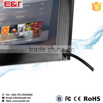 "26"" USB interface IR touch screen frame waterproof/anti-glare infrared touch panel for kiosk/digital signage/vending machine"