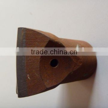 Tapered Chisel tungsten carbide drill bit