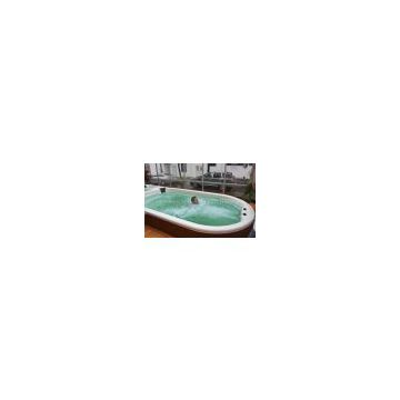Newest swimming pool with hot tub,jacuzzi SR858