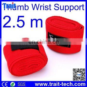 Promotion 2.5m Sports Thumb Cotton Wrist Band Protective Wrist Band