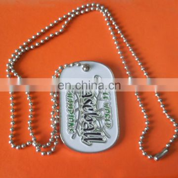 soft enamel baseball logo souvenir metal necklace