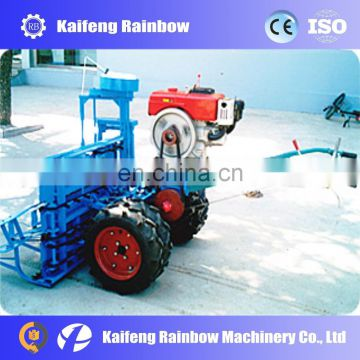 Lowest price high quality rice harvesting and binding machine rice reaper-binder