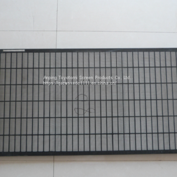 China composite frame shale shaker screen/fengchen oil vibrating sieving mesh