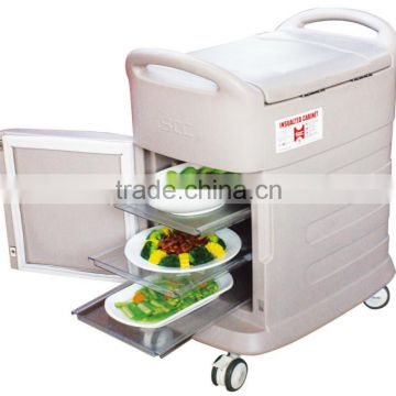 60L food trolley on wheels
