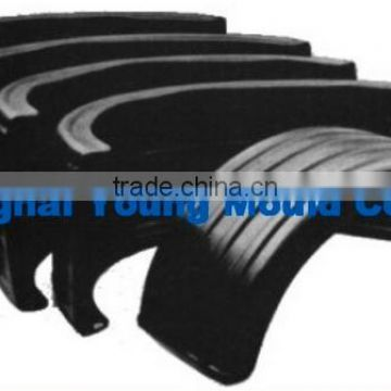 rotomolding tractor fenders tractor roof plastic mud guards for cars