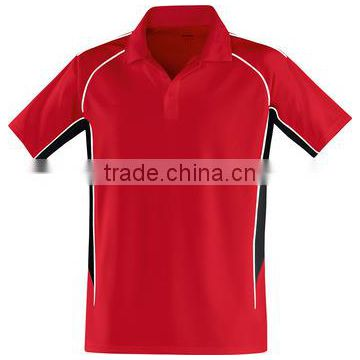 Contrast Color Polo Shirt. Good Quality
