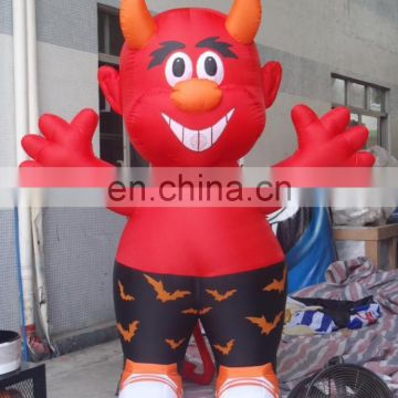 Red bull inflatable costume, inflatable mascot for event and advertising of Holiday inflatable from China Suppliers - 157701210