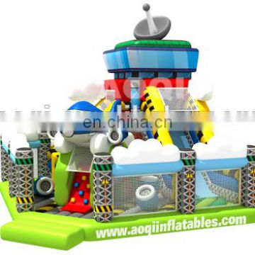 AOQI competitive price top quality airport inflatable fun city for commercial use