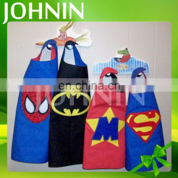 Wholesale various style cartoon dress up satin superhero cape for kids