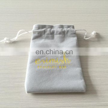 Hotest wholesale velvet material standing up pouch / pouch bag