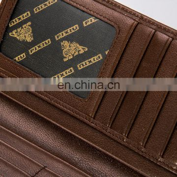 Manufacturer Supplier Realiable Quality Cheap Imperial Mens Pure Leather Wallet