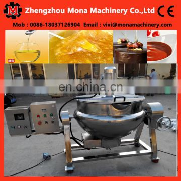 electric cooker for chili sauce| sugar melting pot |juice cooker tank 40 kg/pot heat conduction oil electric sugar cooker