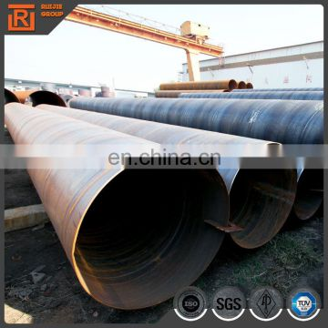 Outer diameter 2m Spiral Welded Steel Piles mild steel pipes API Q235 Q345 ssaw steel pipe