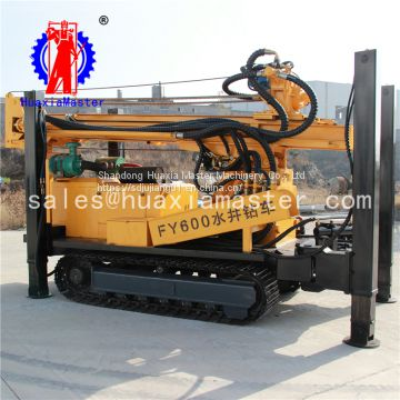 FY600 crawler pneumatic water well rig