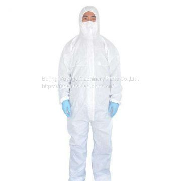 Low price good quality disposable non-woven safety clothing isolation clothing