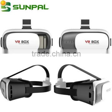 Best product 2016 new innovative products 3d vr box virtual reality VR Box 2.0 with Bluetooth Remote Control vr box 3d glasses