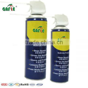 compressed tin gas spray non flammable Air Duster Spray in can 400ml