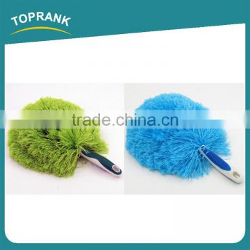 Toprank Hot Sale Mini Extendable Microfiber Radiator Duster Plastic Desk Cleaning Microfiber Hand Duster