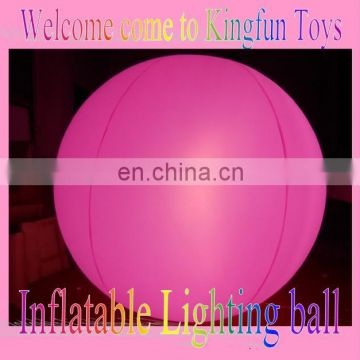 led sky floating balloon