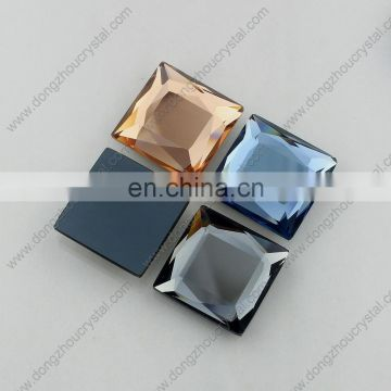 Three colors crystal glass stones for garment