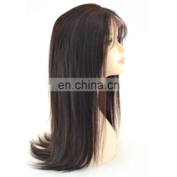 Good Quality Best Selling Middle part Brazilian Hair Lace Front Wig