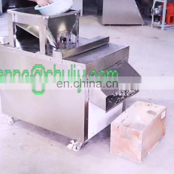 Share Automatic slicer full 304 stainless steel electric peanut cutting machine