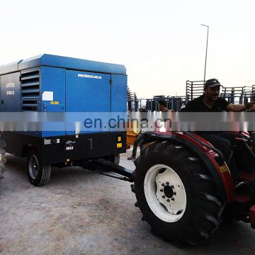 Fast delivery 60 cfm piston oil free air compressor for mining