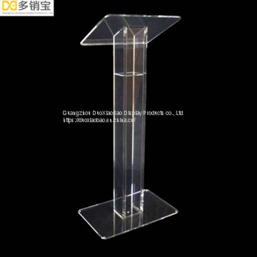 Custom Hot sale Acrylic Lectern stand holder