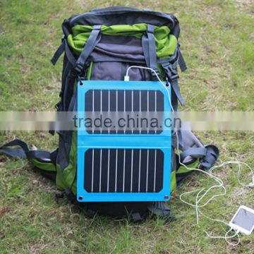 Foldable Solar Charger,Solar Mobile Charger,Solar Mobile Phone Charger with 5.5V/1.93A USB 2.0 Output
