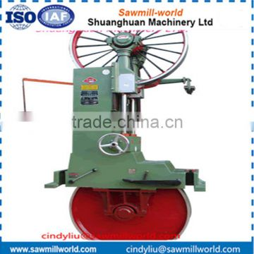 Vertical band saw wood cutting timber cutter machine for sale