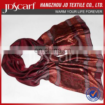 Special offer new fashioned luxury very soft silk polyester scarfs