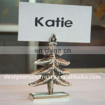 Xmas tree Place Card Holder