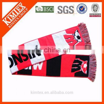 Promotional wintr knit acrylic scarf
