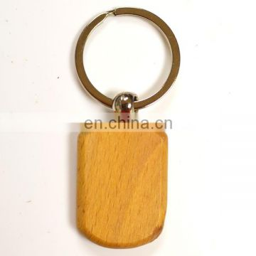 Newest fashion wholesale wooden key ring
