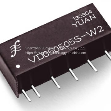 1W/2W DC to DC Converter with 1kv Isolation