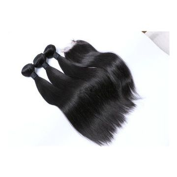 No Damage Reusable Wash Virgin Natural Color Human Hair Weave