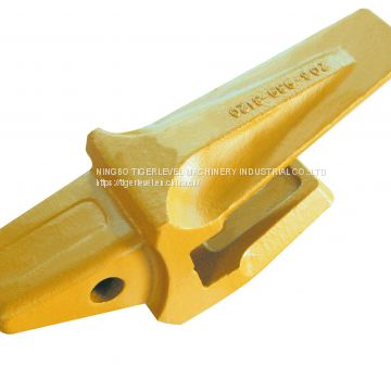 Komatsu PC400 bucket teeth bucket tips 208-70-14152 with durable material for earth moving