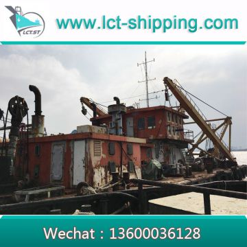 High quality Cutter Suction Dredger with 39.37inch diameter Pipe